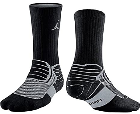 Nike Jordan Jumpman Advance Crew - Calcetines, color rojo/negro 642209 - 695: Amazon.es: Deportes y aire libre