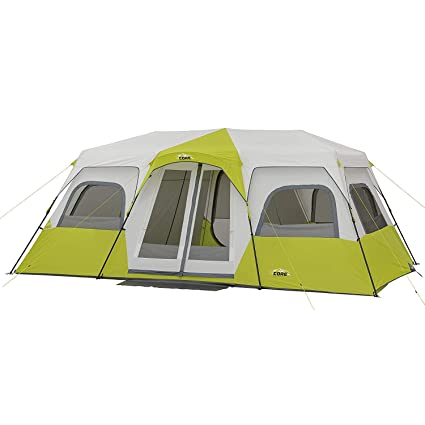 b3107107a9c Amazon.com   CORE 12 Person Instant Cabin Tent - 18  x 10 ...