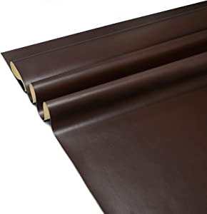 Leather Repair Patch 25 x 50 Inches, 75 Colors Available, Self-Adhesive Leather Tape for Couches, Chairs, Car Seats, Bags, Jackets (Lambskin)
