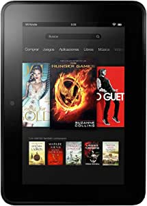 "Kindle Fire HD 7"" (17 cm), audio Dolby, wifi de doble banda, 16 GB [generación anterior]"