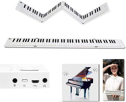 Piano Electrónico Plegable De 88 Teclas, Teclado De Piano ...