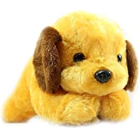 Babique Dog Cute Animal Soft Push Toys for Kids Birthday Gift 26 cm Brown