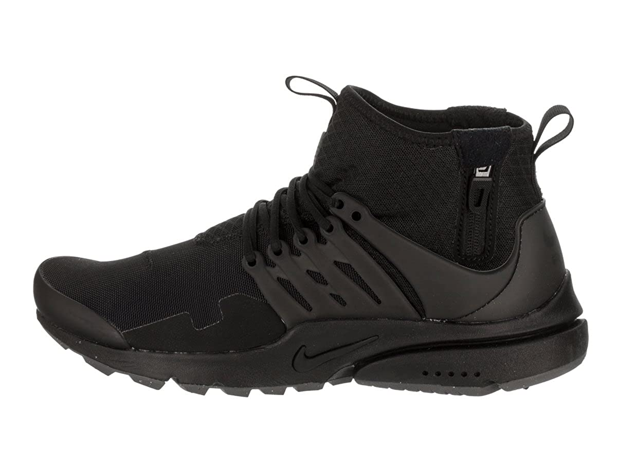 Nike Air Presto Mid Utility Mens Shoes Blackblack Dark