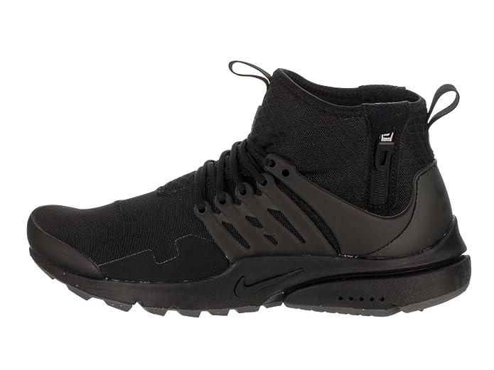 aeb2ef9daf4a3 Nike Herren Air Presto Utility Mid Schwarz Mesh Sneaker 41  Amazon.de   Schuhe   Handtaschen