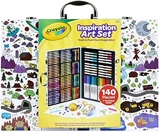 Crayola Inspiration Art Case, Art Set, Gifts for Kids
