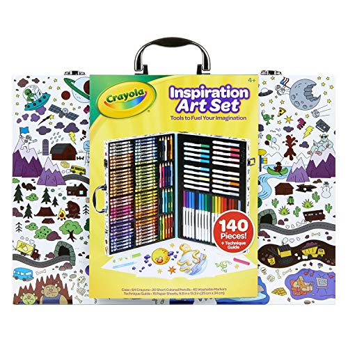 Crayola Inspiration Art Case, Art Set, Gifts for Kids