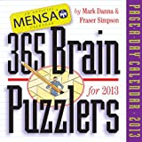 Mensa 365 Brain Puzzlers 2013 Page-A-Day Calendar