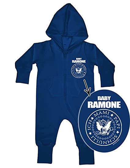 BABY RAMONE Baby All-in-one Sweatsuit navy