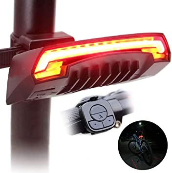 SYCHONG Control Remoto Inalámbrico Smart Bike Tail, Luz De Freno ...