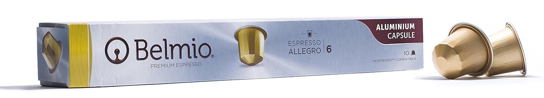 Belmio Premium Aluminium Coffee Nespresso Compatible Pods for Nespresso OriginalLine - 100 Pod Largo Pack: Amazon.com: Grocery & Gourmet Food