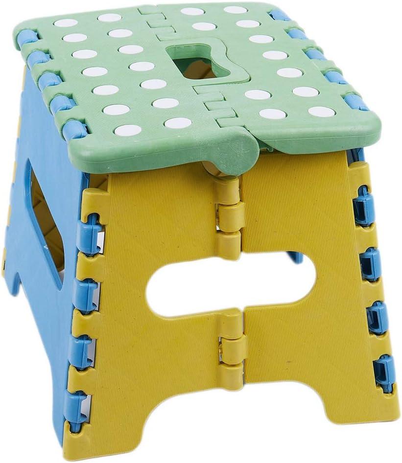 RETYLY Tabouret Pliant Assise Pliante Marchepied Pliant 22 X 17 X 18Cm Plastique Jusqu/à 150 Kg Pliable