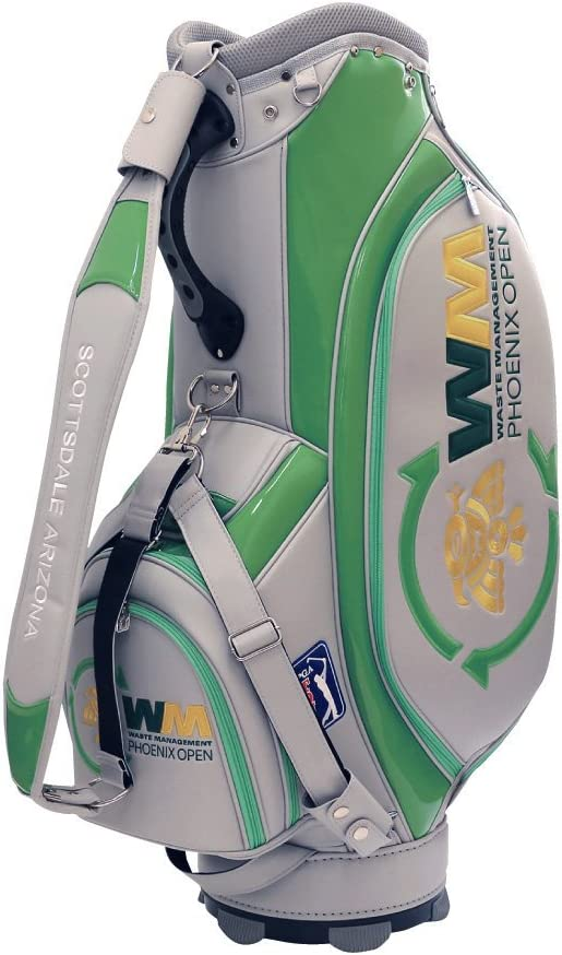 ダイヤ(DAIYA) キャディーバッグ ツアータイプキャディバッグ US PGA TOUR キャディバッグ3061 グレー メンズ CB-3061 グレー