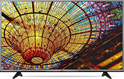 LG 43UH6030 43-inch 4K Ultra HD LED Smart TV - 3840 x 2160 - TruMotion 120 Hz - webOS 3.0 - Wi-Fi - HDMI (Certified Refurbished)