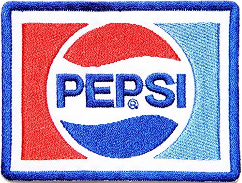 (Pepsi Soft Drink Logo Symbol Jacket T-shirt Patch Sew Iron on Embroidered Sign Badge Costume Clothing)