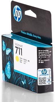 HP 711 - Cartucho de Tinta para impresoras (Amarillo, 29 ml, HP Designjet T120, T520HP Designjet T120, T520, 10-90%, -40-60 °C, 5-35 °C): Hp: Amazon.es: Oficina y papelería