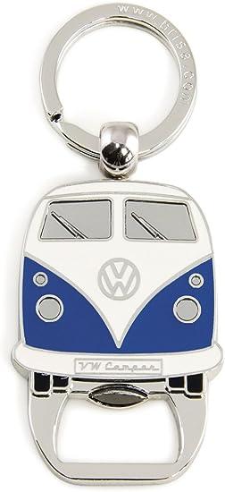 Blue Gift Idea//Fan Souvenir//Retro Vintage Product Brisa VW Collection Volkswagen Classic Beetle Car Bug Key Ring Chain//Bottle Opener