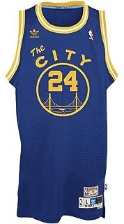 adidas Rick Barry Golden State Warriors NBA Throwback Swingman Jersey - Blue a23b1662f