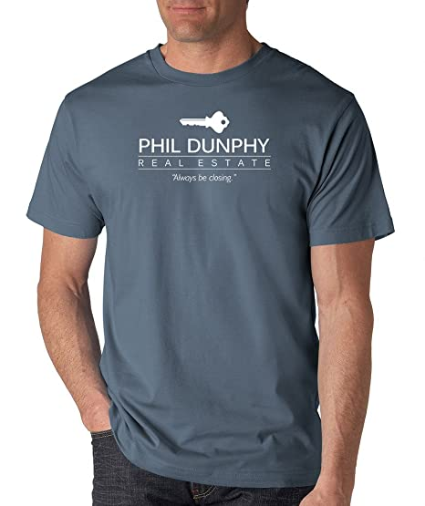 da33975c3 Amazon.com: SignatureTshirts Men's Phil Dunphy Real Estate T-Shirt ...
