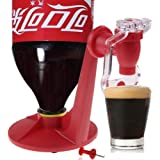 Wondeful Drink Saver Dispenser Linkspe Home Bar Coke Fizzy Soda Soft Drinking Faucet Red Creative