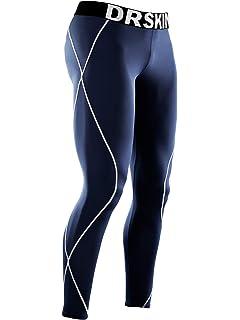 dfd48dfa891efc DRSKIN Compression Cool Dry Sports Tights Pants Baselayer Running Leggings  Yoga Rashguard Men (3XL,
