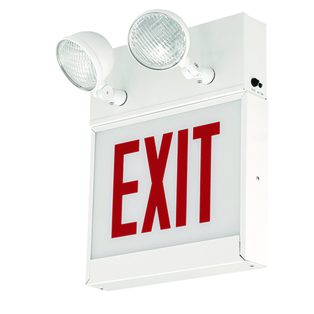 Dual-Lite CLSCSRW-NP Clsc Series Steel Combination Exit/Unit, No Panel Included