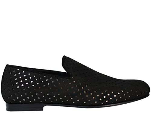 Jimmy Choo - Mocasines para hombre negro negro IT - Marke Größe, color negro, talla 42.5 IT - Marke Größe 42.5: Amazon.es: Zapatos y complementos