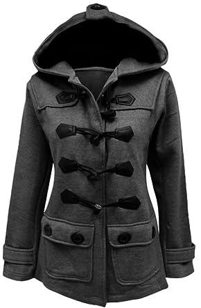EVERY Damen Winterjacke Wintermantel Steppjacke Kapuzenpullover Lange Parka  Outwear Jacke Mantel Kapuzenjacke: Amazon.de: Bekleidung