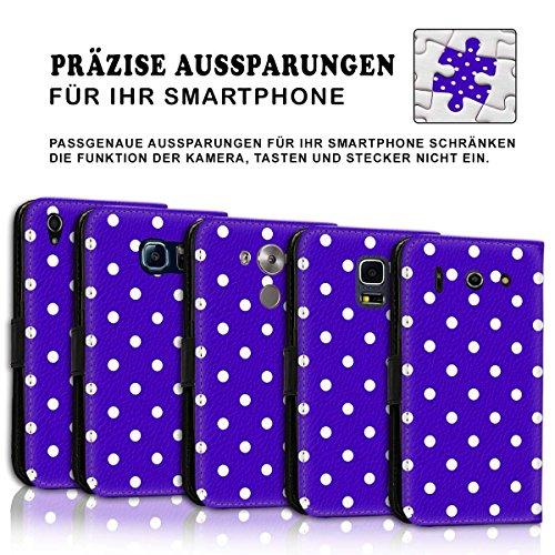Wallet Book Style Flip Handy Tasche Case Schutz Hülle Schale Motiv Etui für Apple iPhone 6 Plus / 6S Plus - Design Flip MVD288
