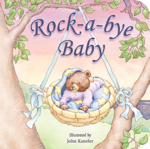 Book Baby Rockabye - Rock-a-bye Baby (Padded Board Books)