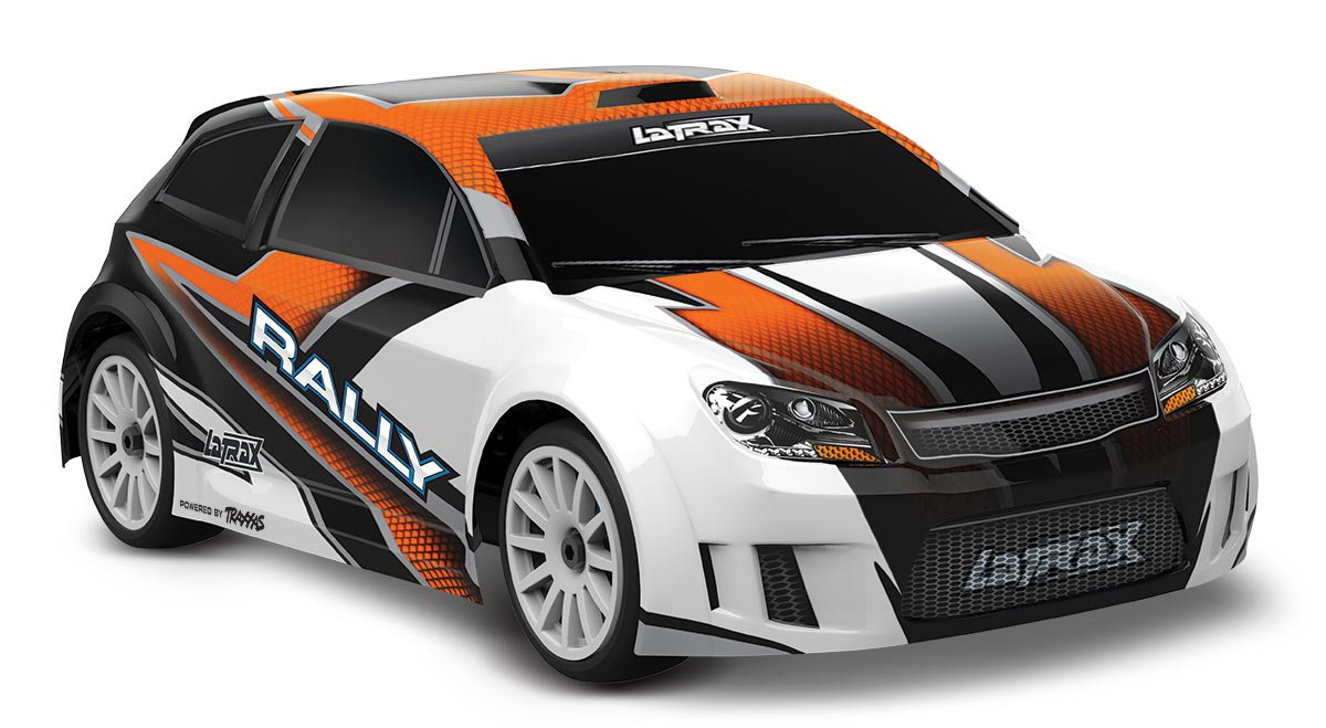 LaTrax Rally: 1/18 Scale 4WD Electric Rally Racer, Orange