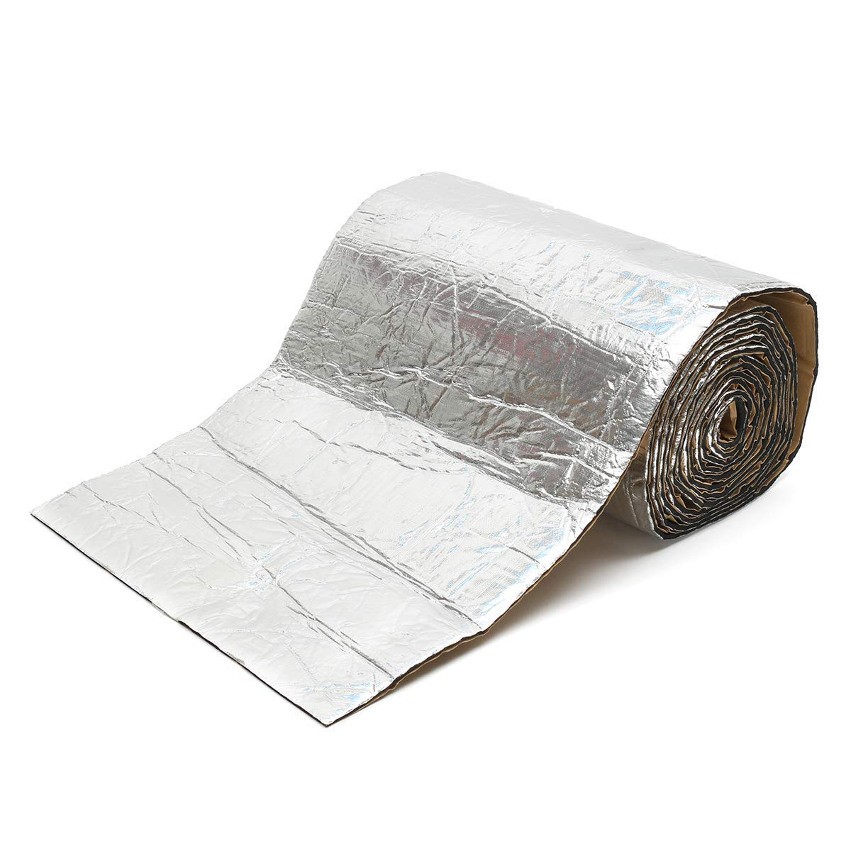 Casavidas 7 mm Auto Schalld/ämmung Hitzeschutz Isolierung Aluminium Folie Material Schalld/ämmung Baumwolle