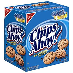 Nabisco Chips Ahoy! - 4/12 oz. packs
