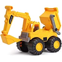 Shopoflux™ JCB & Dumper Construction Toy Vechicle (2 in 1 Dumper and JCB)