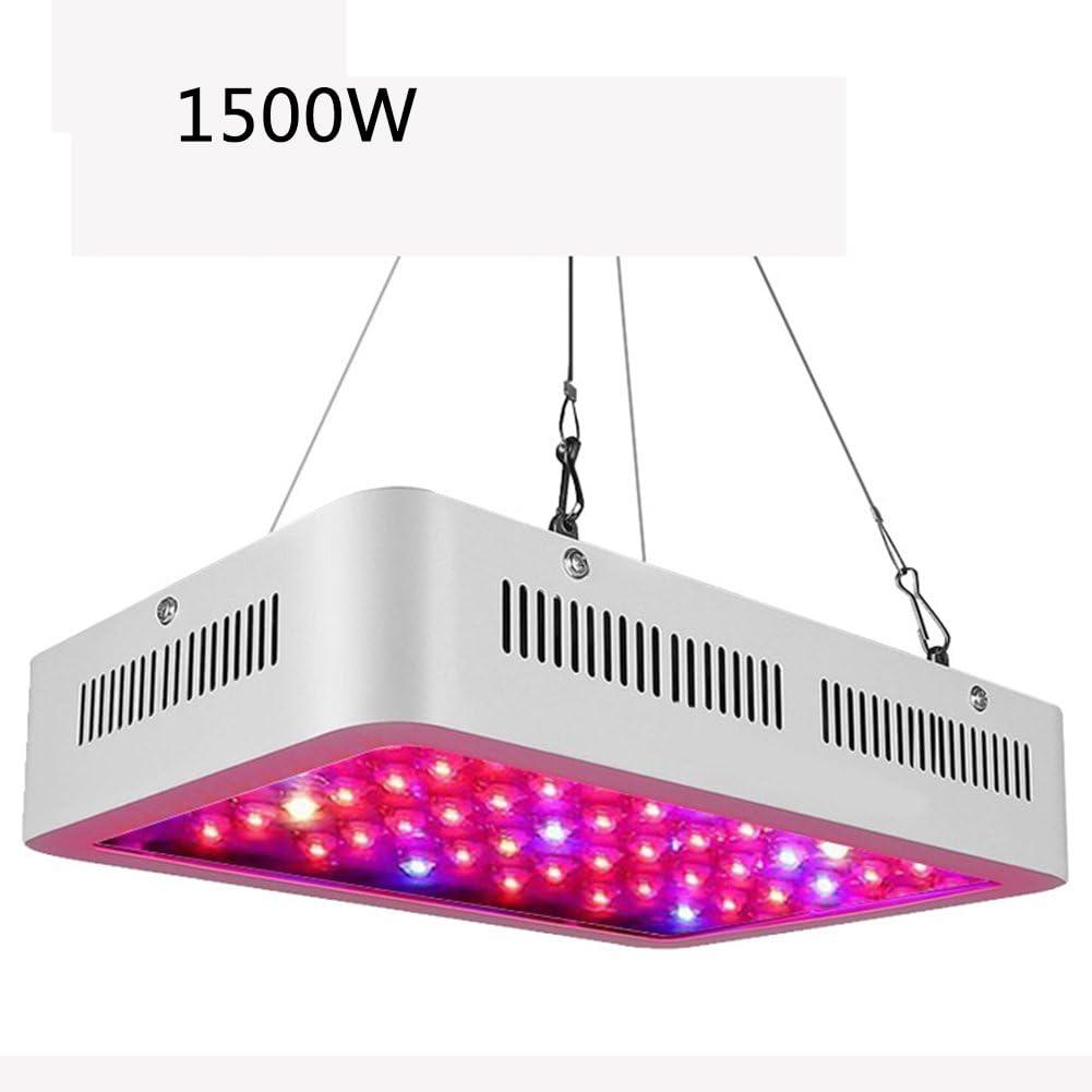 J.Memi 1500W LED Cultivo Grow Light Plantas Lampara De Cultivo Iluminacion Espectro Completode Plantas con Luz IR UV para Interior Invernadero Hydroponic Planta Crecimiento