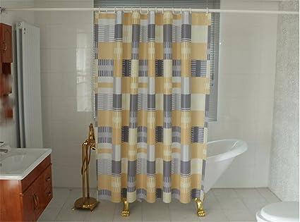 Xxszkaa asia box doccia arancione bagno tenda tenda muffa tenda