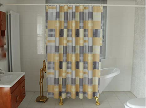 Xxszkaa shower curtains xxszkaa arancione sub square tenda doccia