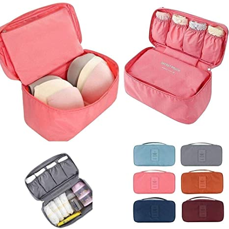 d169b22bb410 Dhruheer Travel Women's Storage Bag for Underwear Bra Nicker Clothes ...
