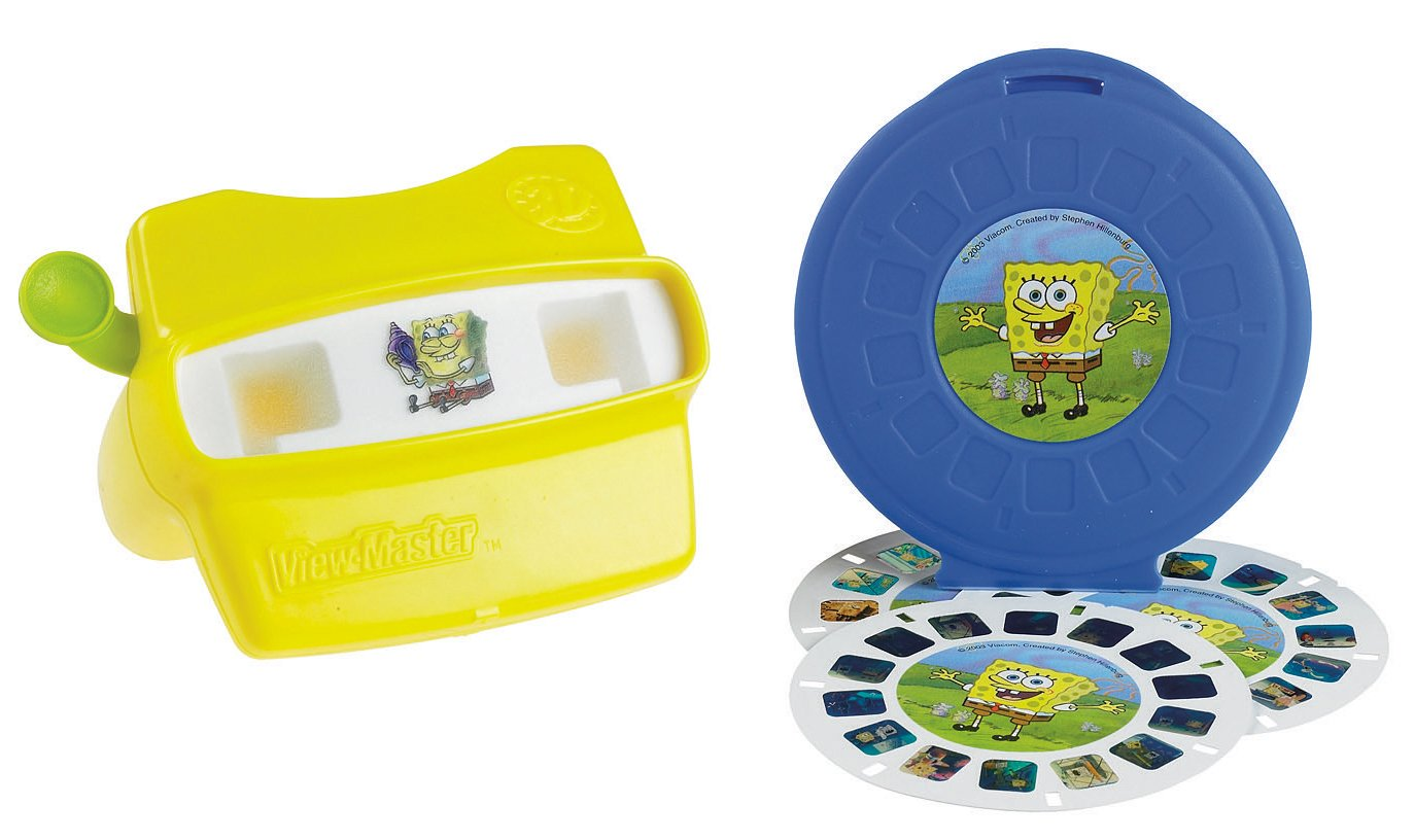 amazon com fisher price spongebob squarepants view master 3d gift