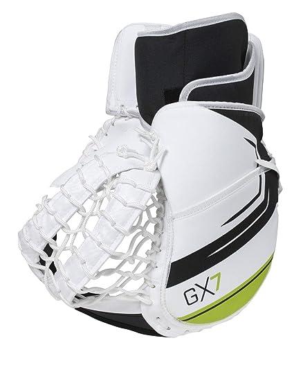 Amazon Com Winnwell Gx 7 Premium Street Hockey Goalie Trapper