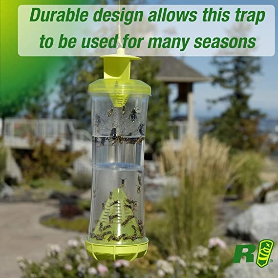 Non-Toxic Wasp WHY Trap Hornet Yellowjacket Trap Attractant Refill RESCUE