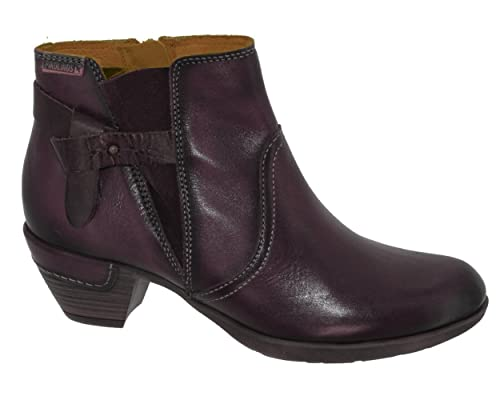 PIKOLINOS Rotterdam 902 Botines/Low Boots Mujeres Garnet/Moka Botines: Amazon.es: Zapatos y complementos