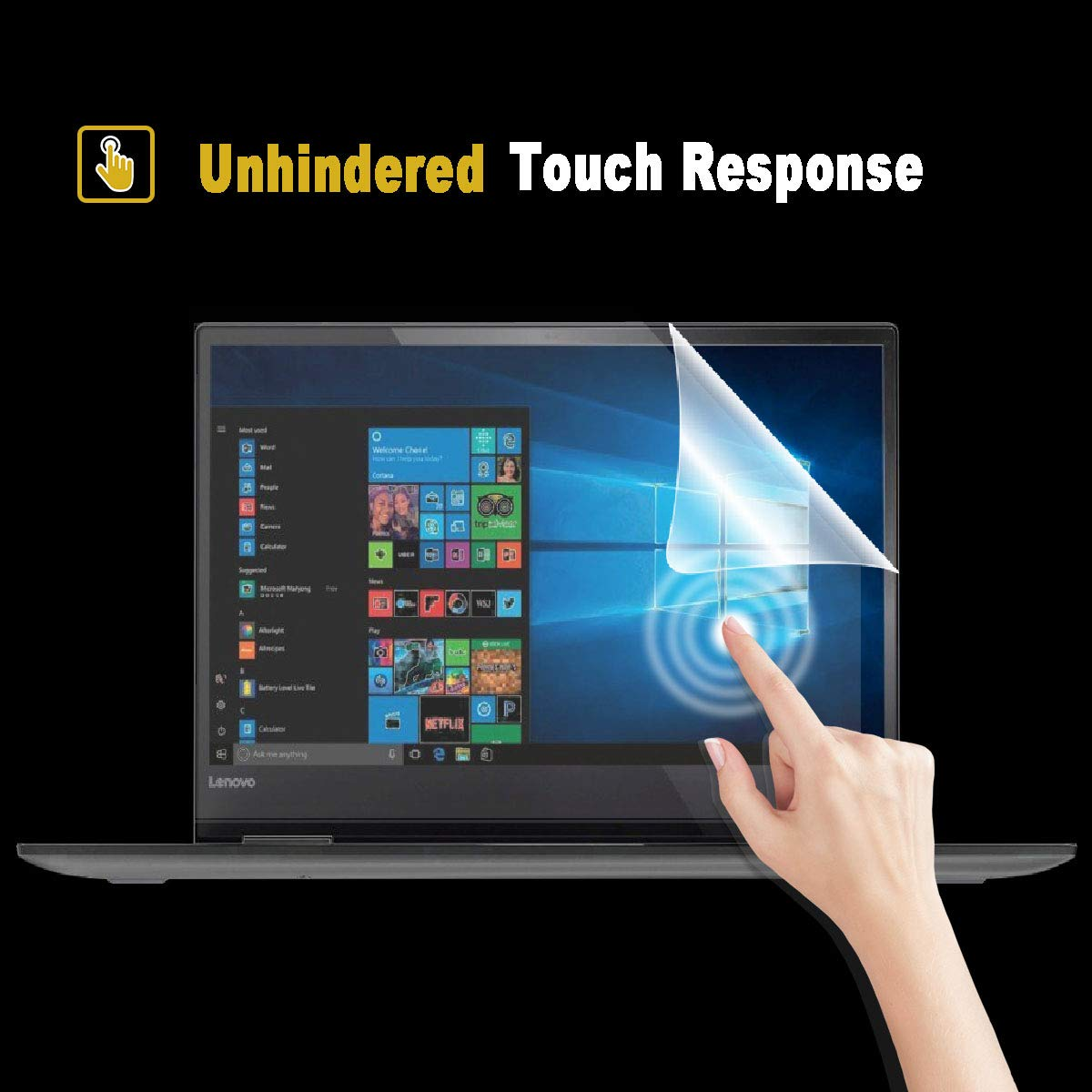Help for Your Eyes Reduce Fatigue 2 Pack Matte Anti-Glare Screen Protector for HP Pavilion 15.6 Inch Series with Surprise Keyboard Skin
