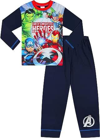 Pijama de Marvel The Avengers Hulk Iron Man Capitán América