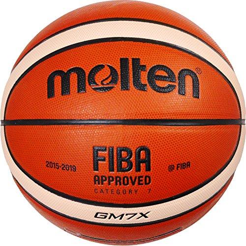 molten Basketball, Orange/Ivory, 7, BGM7X
