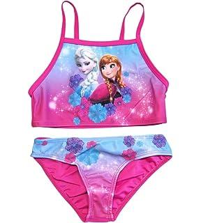 Disney Frozen Badeanzug Anna /&Elsa Bikini Gr.92-128