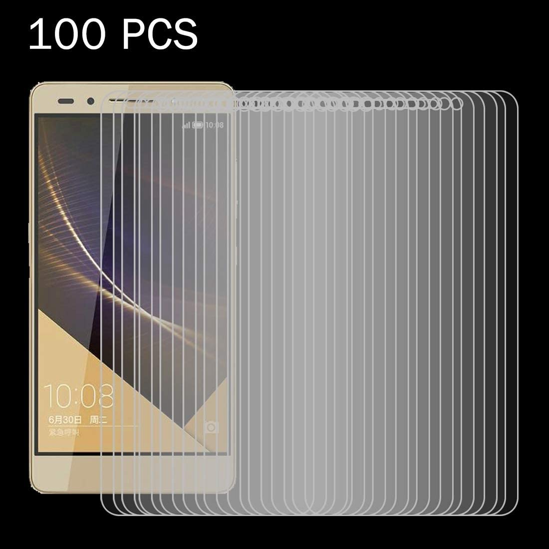 Temperedglass YHM 100 PCS for Huawei Honor 7 Plus 0.26mm 9H Surface Hardness 2.5D Explosion-Proof Tempered Glass Screen Film