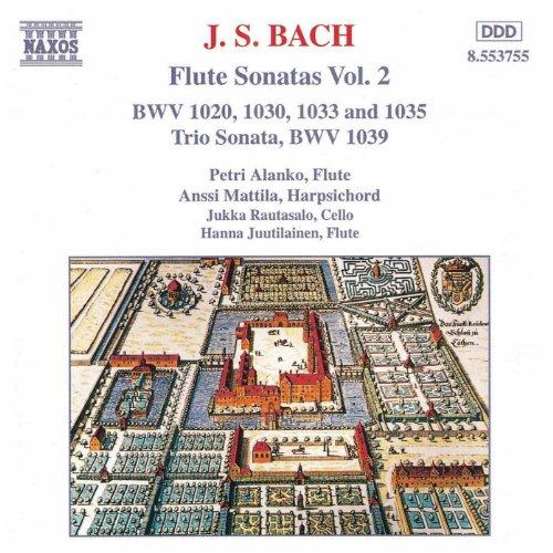 Bach, J.S.: Flute Sonatas, Vol. (Flute Ensemble Pieces)