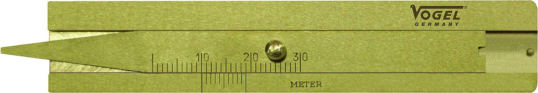 Vogel Germany Messing Reifenprofil Tiefenmaß Typ A Messbereich 30 Mm Ablesung 0 1 Mm Radtiefen Messgerät Brückenlänge 20 Mm 214401 Baumarkt