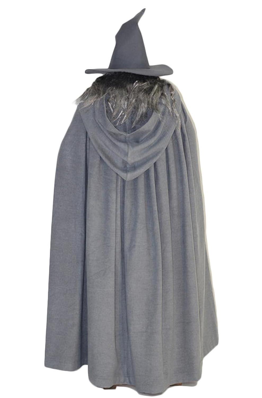 Amazon.com: xcostume Gandalf Costume Wig Hat and Beard ...