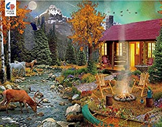 product image for David Maclean Aurora Lights Puzzle - 1000Piece